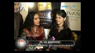 Nitya Menon, Actress, Blenders Pride Hyderabad International Fashion Week-2012