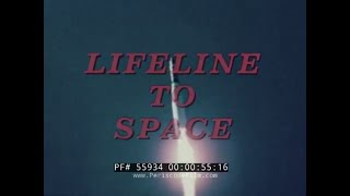 1960s PHILCO SATELLITE & SPACE COMMUNICATIONS SYSTEMS FILM  NASA  55934
