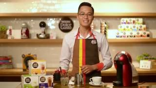 Latte Art with NESCAFE Dolce Gusto