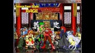Stargazer1331 Random Mugen Battle #810: Team Kratos vs. Team Yang