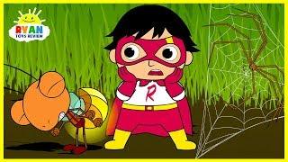 Ryan Shrinks in Bugs World| Cartoon Animation for Children!