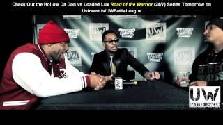 UW Battle League Presents: Loaded Lux vs Hollow Da Don - Face-Off