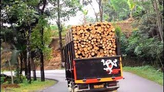truk libas jalan berliku menantang maut [trukmania]