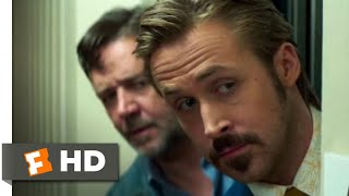 The Nice Guys (2016) - Hotel Massacre Scene (4/8) | Movieclips