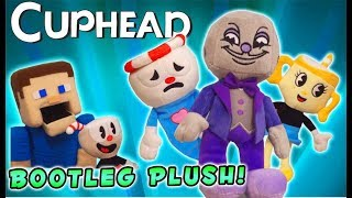 CUPHEAD Plush Funko Series 2?? AWESOME Ms Chalice King Dice Ghost Bootlegs Unboxing