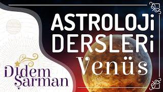 2) Astroloji Dersleri Venüs Para ve Evlilik Temsilcisi