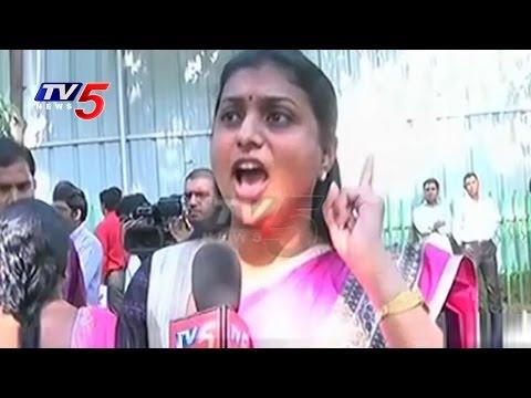 YCP MLA Roja Slams Chandrababu On Call Money Sex Racket | TV5 News