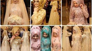Pınar Şems 2016 Tesettür Abiye Nişanlık Hazır Nişan Başı Modelleri