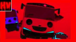 Tayo the Little Bus - Theme Song (Horror Version) 😱