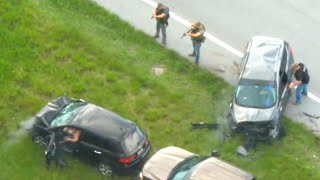 Deputy Shot At During Florida Car Chase Says He