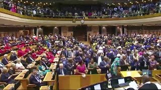 "WOW - Malema And EFF ""DID NOT"" Disrupt SONA 2019"
