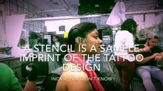 Bengali girl gets tattooed in Jackson heights, Queens