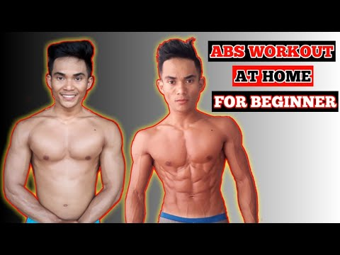 ABS WORKOUT!!! HOW TO GET A SIXPACK AT HOME FOR BEGINNER