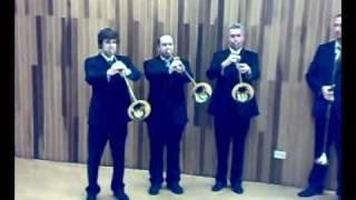 Aida marcia trionfale trombe egizie