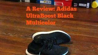 En pies de adidas ultraboost uncaged multicolor