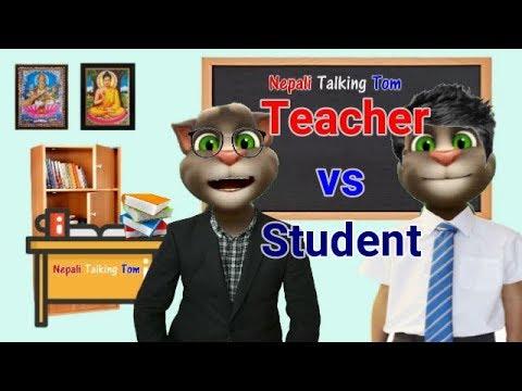 Xxx Mp4 Nepali Talking Tom TEACHER AND STUDENT COMEDY VIDEO शिक्षक Vs बिद्यार्थी Talking Tom Nepali 3gp Sex