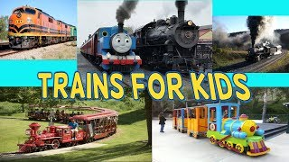Trains for Kids | Thomas and Friends Train | Transport and Big Trains for Children