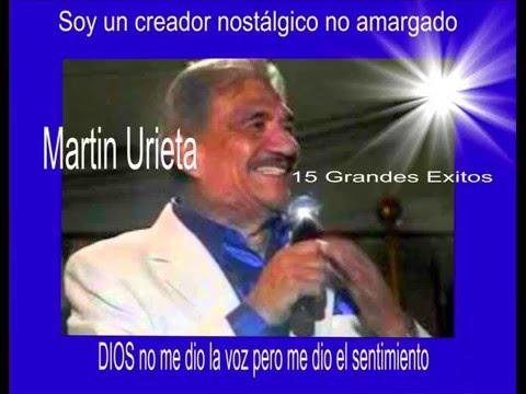 Martin Urieta. 15 Grandes exitos.