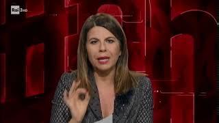 Geppi Cucciari in diretta da Milano - #cartabianca 07/11/2017
