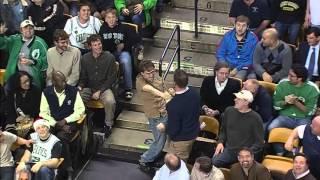Bon Jovi fan breaks out dancing at a Celtics game