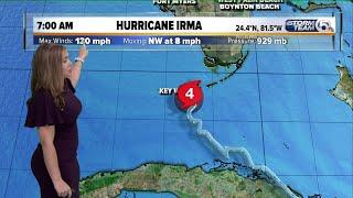 7 a.m. Sunday Hurricane Irma update