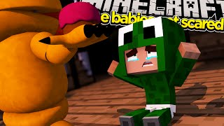 Minecraft Baby Daycare - BABY FREDDY AND FRIENDS KIDNAPP THE BABIES!