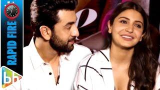 Anushka Sharma's WITTIEST Rapid Fire On Ranbir Kapoor | Ae Dil Hai Mushkil | Kareena Kapoor