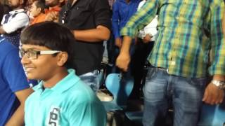 Parth Jani aged 7 years Cheering for Gujarat Lions