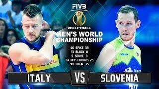 Italy vs. Slovenia   Highlights   Mens World Championship 2018