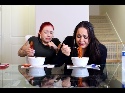 Xxx Mp4 VOLCANO FIRE NOODLE CHALLENGE GONE WRONG Ad Salice Rose 3gp Sex