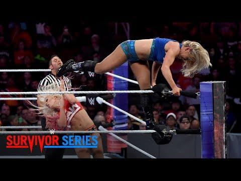 Xxx Mp4 Charlotte Flair Brutally Powerbombs Alexa Bliss Survivor Series 2017 WWE Network Exclusive 3gp Sex