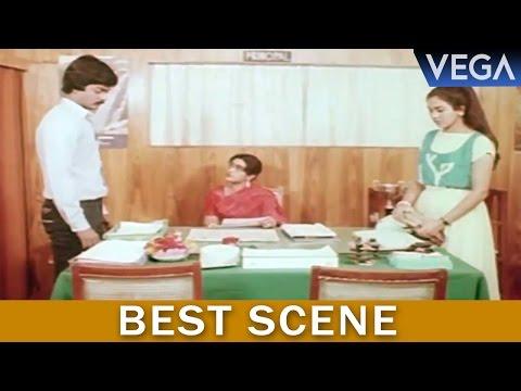 Kalamellam Un Madiyil Tamil Movie || Jayashree Reports To Principal About Murali || Best Scene