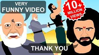 Kattappa ne Bahubali ko kyu mara Funny Video Song Spoof | Why Kattappa killed Bahubali