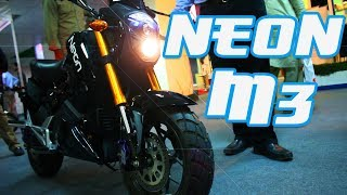 NEON M3 - Electric Motorcycle with over 85km range