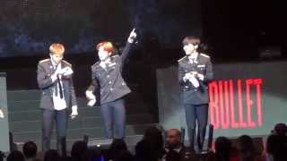BTS- The Red Bullet Tour in Chicago 'Bulletproof', Introductions, 'We On' & 'Hip Hop Lover'