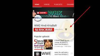 WWE in India by filmy World