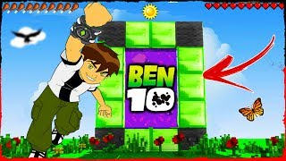 Minecraft Ben 10 - How to Make a Portal to BEN 10