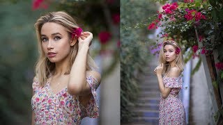 Natural Light Photoshoot with 85mm 1.2 Lens, Behind The Scenes