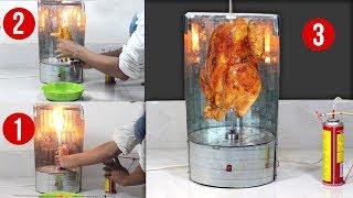 Mini Electric chicken Grill & BBQ Machine at home ! DIY Grill Machine