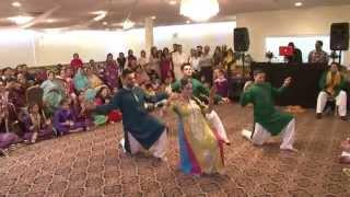 Zenab & Zohaib's Mehndi dance