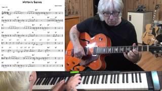 Moten's Swing - Jazz guitar & piano cover ( Benny Moten )