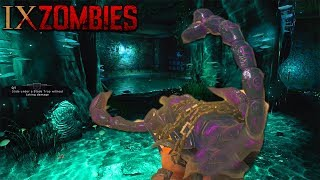 BLACK OPS 4 ZOMBIES - IX BOSS FIGHT FULL EASTER EGG COMPLETE GAMEPLAY (Black Ops 4 Easter Egg Hunt)
