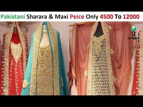 Xxx Mp4 Low Price Pakistani Bridal Sharara And Maxi In Jama Cloth Market 3gp Sex