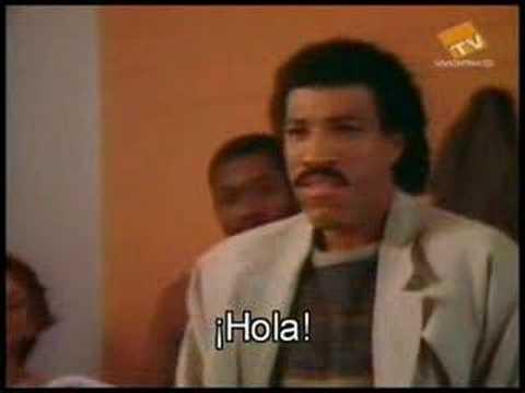 Lionel Richie hello subtitulada al castellano