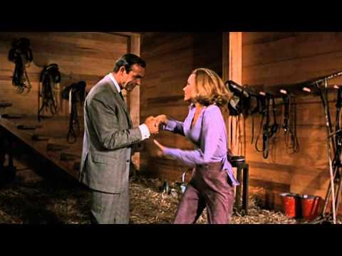 Goldfinger - James Bond & Pussy Galore Barn Scene HD