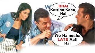 Salman, Sohail And Katrina FUNNY MOMENT At Dabangg Tour Pune