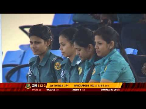 Sexy Bangladeshi Chitagong Comilla District mohila or women police watching cricket