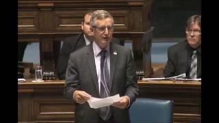 Blaine Pedersen May 30, 2017 Ministerial Statement