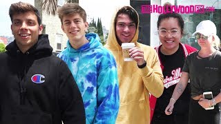 Team 10 Speaks On RiceGum & Bart Baker, Swatted 3rd Time & Max Turns Tables On Paparazzi 7.25.17
