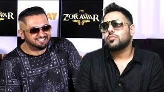 Yo Yo Honey Singh INSULTS Badshah At Zorawar Trailer Launch